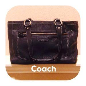 Vintage Coach Tote